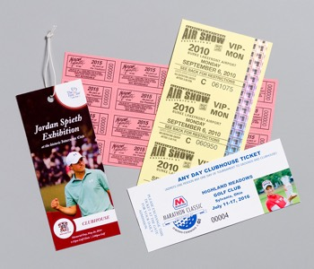 Custom Event Tickets Web